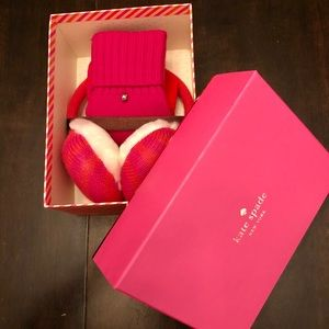 Kate Spade Mittens and Earmuffs Set